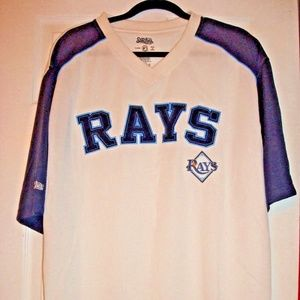 MLB TAMPA BAY RAYS MEN'S LARGE STITCHES JERSEY